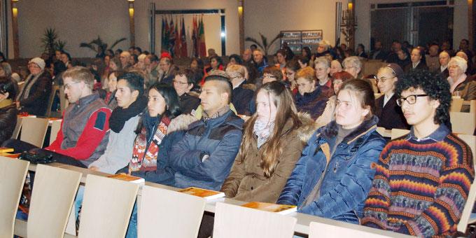 Junge Erwachsene aus dem Erzbistum Hamburg waren dabei (Foto: Brehm)