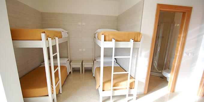 Vierbettzimmer (Foto: Brehm)