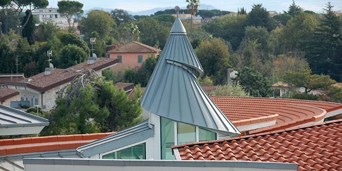 Die Schnecke spielt in der architektonischen Idee des Domus Pater Kentenich eine wichtige Rolle (Foto: Brehm)