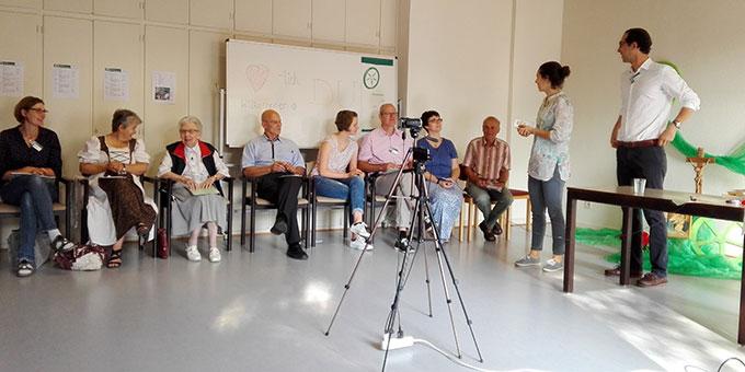 Pädagogisches Seminar in Schönstatt mit internationaler Beteiligung (Foto: Erhard)