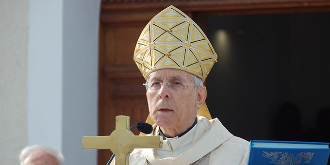 Festpredigt: Erzbischof Ignazio Sanna, Oristano, Sardinien (Foto: Brehm)