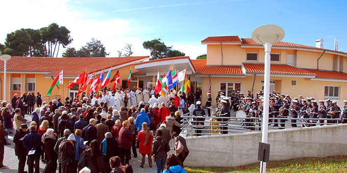 """16.11.2017: Eröffnung des """"Domus Pater Kentenich"""" im internationalen Schönstatt-Zentrum Belmonte, Rom (Foto: Brehm)"""
