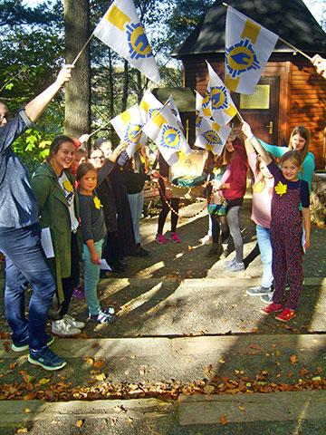 Die Mädchen hatten beim Tag für Mädchen in Naundorf, Sächsische Schweiz, viel Spass und Freude (Foto: Engelhardt)