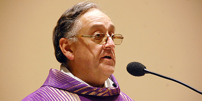 Pater Eduardo Aguirre, Postulator im Seligsprechungsprozess für Pater Josef Kentenich (Foto: Brehm)