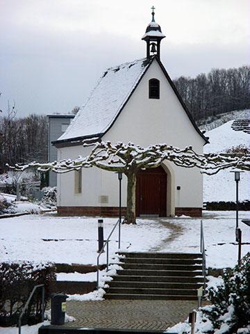 Die Schönstatt-Kapelle des Zentrums Marienfried - ein wunderbar stiller Ort zum Gebet (Foto: Jäger)