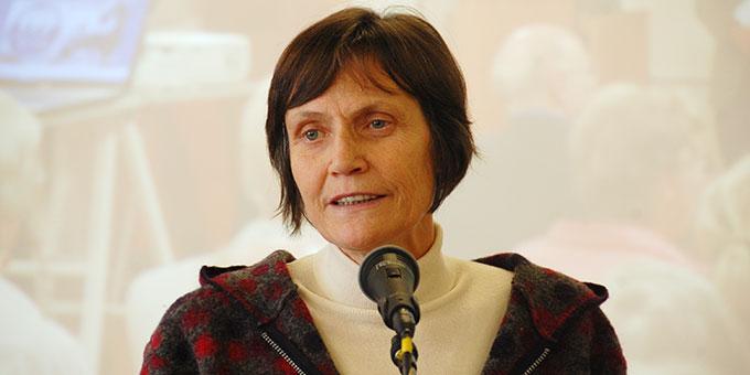 Rita Stegmann, Fokolar-Bewegung, moderierte den Vormittag (Foto: Brehm)