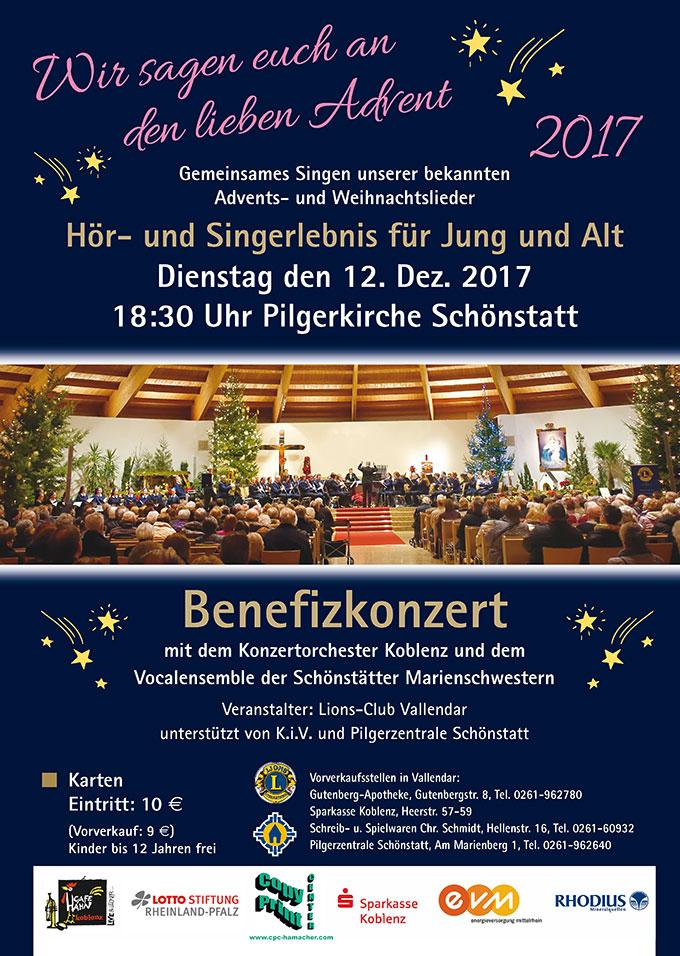 Benefiz-Konzert Pilgerkirche (Foto: Pilgerzentrale)