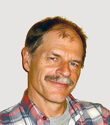 Wilfried Röhrig, Texter und Komponist (Repro: Markus Hauck POW)