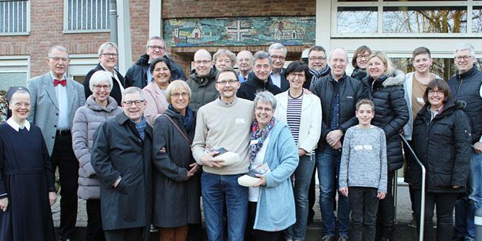 Familien, die in der Schönstatt-Bewegung des Bistums Münster mitarbeiten und Verantwortung tragen