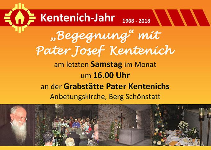 Flyer Begegnung mit Pater Kentenich (Foto: S-MS.org)