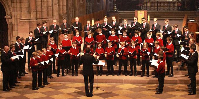 Die Freiburger Domsingknaben werden bei der geistlichen Abendmusik auf der Liebfrauenhöhe singen  (Foto: www.freiburger-dommusik.de)