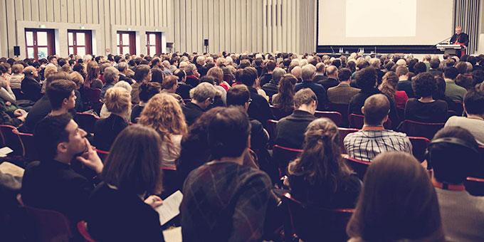 Auditorium im Maternushaus Köln beim Rhein-Meeting 2017 (Foto: Rhein-Meeting)