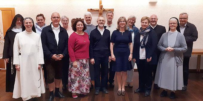 Die Kursteilnehmer des Kurses Geistliche Begleitung (Foto: JKI)