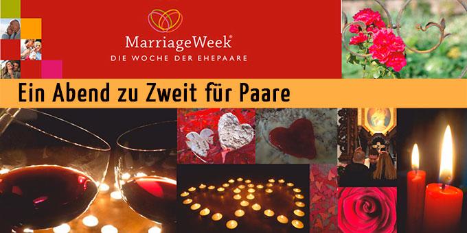 Abend zu Zweit im Rahmen der MarriageWeek (Foto: Burkhart)