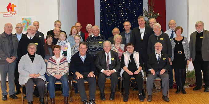 Die am Festtag anwesenden Mitglieder der SDG auf der Würzburger Marienhöhe. (Foto: (c) SDG)