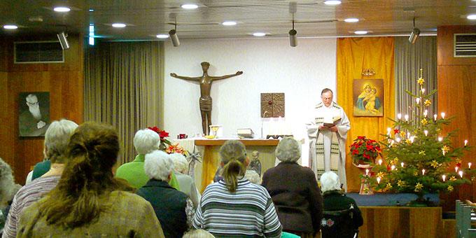 Gottesdienste mit Pater Eduardo Aguirre, Postulator im Seligsprechungsprozess Pater Kentenichs (Foto: AUTOR)