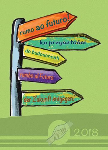 """""""Der Zukunft entgegen"""" Grafik von Kathrin Bieler (Foto: Schönstatt-Frauenbund)"""