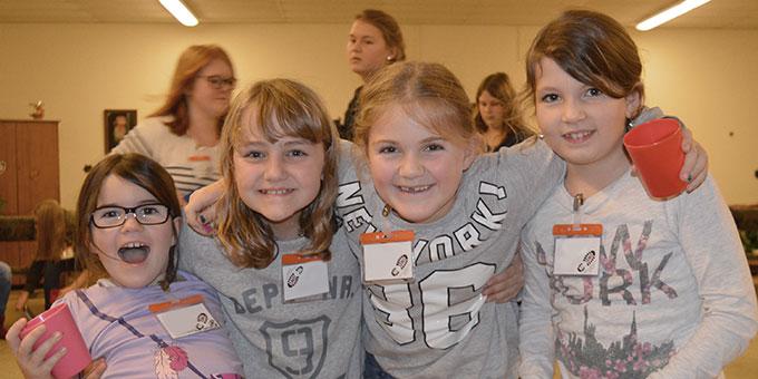 Viel Spass hatten die Mädchen beim Sternstundentreffen in Endel (Foto: M. Imwalle)