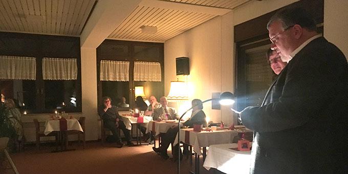 Konkrete Anregungen für's Gespräch von Ehepaar Claudia und Heinrich Brehm (Foto: Defrancesco)