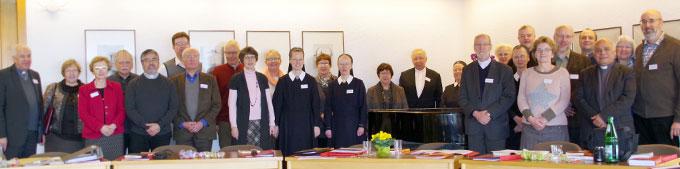 Die Vertreterinnen und Vertreter der verschiedenen Säkularinstitute freuen sich auf die Fortsetzung der Tagung im nächsten Jahr (Foto: Neiser)