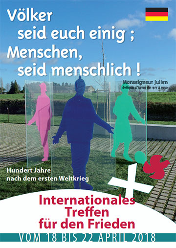 Deutschsprachiges Plakat (Foto: Centenaire pour la paix)
