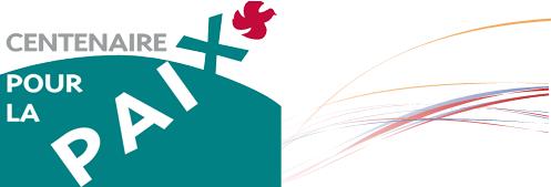 """Logo des """" Centenaire pour la paix"""""""
