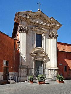Heimat von Sant'Egidio: Basilika Santa Maria in Trastevere (Foto: Di Jensens - Opera propria, Pubblico dominio)