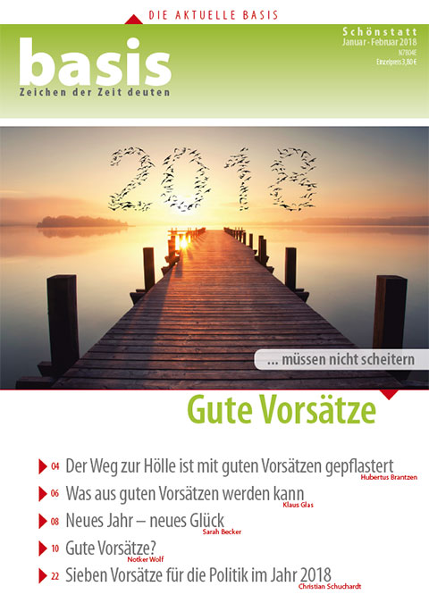 Cover basis 1-2/2018 (Foto: Patris Verlag)