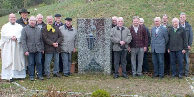 Die Teilnehmer der Besinnungstage (Foto: Danner)
