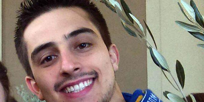 Lucas Galhardo am Palmsonntag in Rom (Foto: privat)