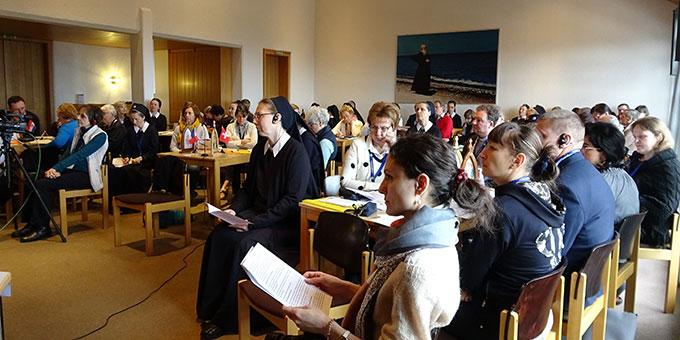 Die Europakonferenz des Projektes der Pilgernden Gottesmutter tagte in der Bildungsstätte Marienland in Schönstatt/Vallendar (Foto: Projekt Pilgerheiligtum)