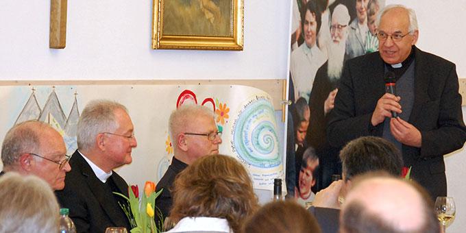 Provinzial Pater Theo Breitinger bei seiner Festrede (Foto: Brehm)