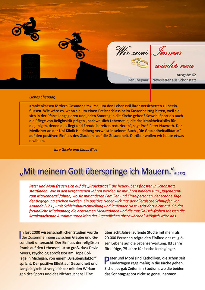 "Ehepaar-Newsletter 03/2018 ""Wir zwei - Immer wieder neu"" (Foto: ShiftGraphiX - pixabay.com)"
