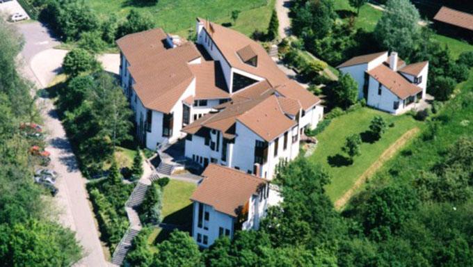 Jugendzentrum Marienberg, Vallendar  - Luftbild