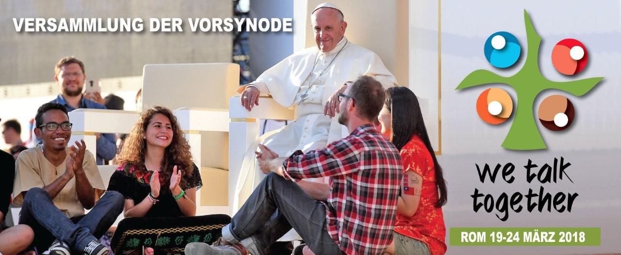 Papst Franziskus hat Jugendliche zur einer vorsynodalen Versammlung nach Rom eingeladen (Foto: synod2018.va)