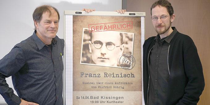 Musical-Urheber Wilfried Röhrig (links) und Hauptdarsteller Mathias Gall (Foto: Markus Hauck, POW)