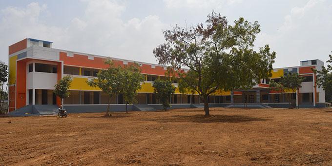 Das neue Schulgebäude wird am 14. März eingeweiht (Foto: Sunrise Village)
