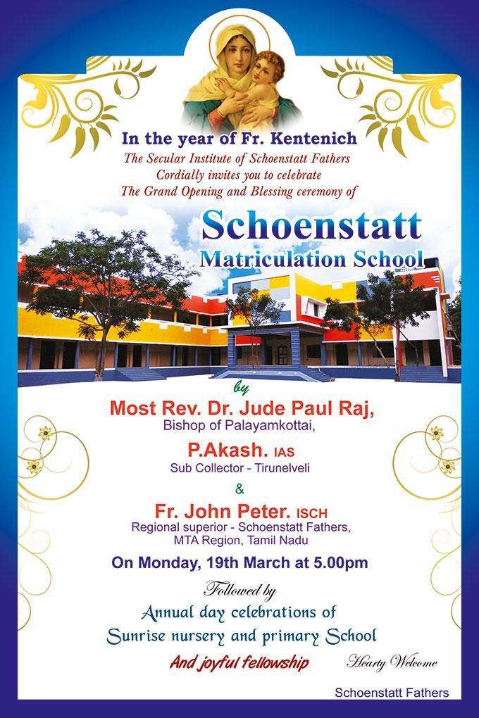 Einladungsplakat (Foto: Sunrise Village)