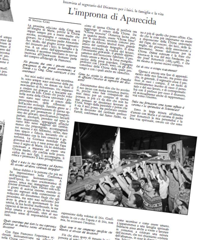 Osservatore Romano, Ausschnitt aus der Tagesausgabe vom 2.2.2018
