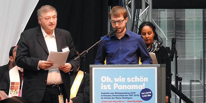 Der Weltjugendtag in Panama auf der Tourismusmesse CMT in Stuttgart (Foto: McClay)