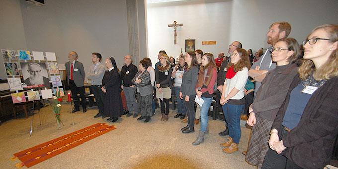 Präsentation der Gruppenergebnisse (Foto: Brehm)