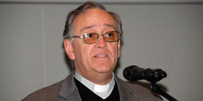 Pater Eduardo Aguirre, Postulator im Seligsprechungsprozess von Pater Josef Kentenich  (Foto: Brehm)