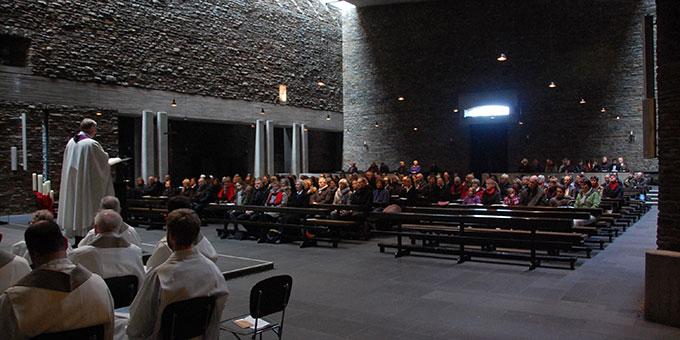 Schlussgottesdienst in der Dreifaltigkeitskirche (Foto: Brehm)