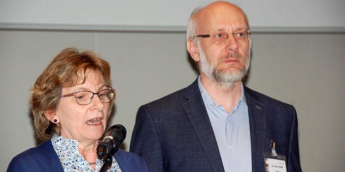 Ehepaar Maria und Dr. Ulrich Wolff, Eberbach, Institut der Schönstattfamilien (Foto: Brehm)