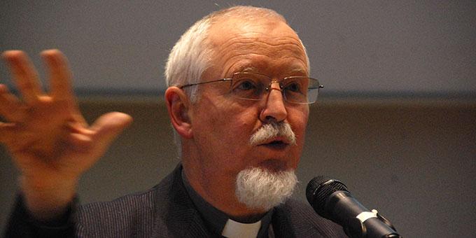 Pater Elmar Busse ISch, Fachbereichsleiter Spiritualität in der Katharina-Kasper-Stiftung, Dernbach (Foto: Brehm)
