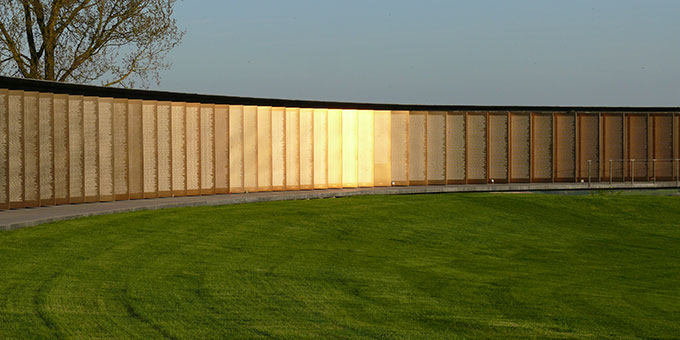Ring der Erinnerung - ein beeindruckendes Antikriegs-Monument mitten in den Ardennen (Foto: privat)
