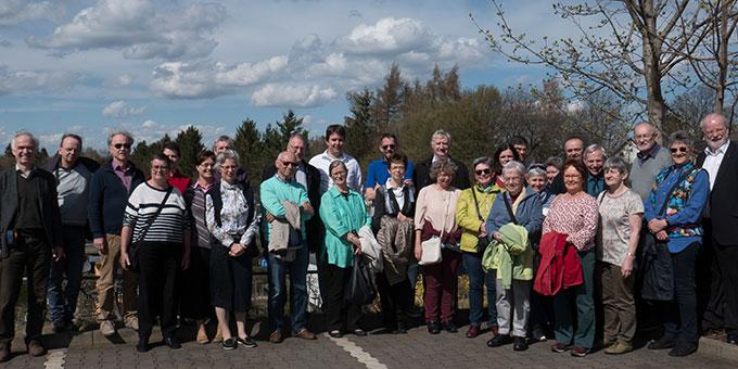 Nationalverantwortliche der kathoilischen Geistlichen Gemeinschaften beim Ausflug in Chemnitz (Foto: Ernst Langner)