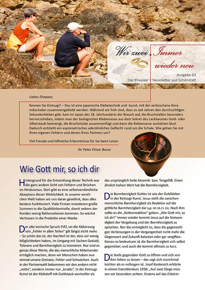 """Ehepaar-Newsletter 04/2018 """"Wir zwei - Immer wieder neu"""" (Foto: wunderela - pixabay.com)"""