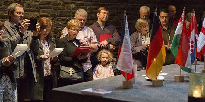 Gebetszeit in der Anbetungskirche (Foto: Lilek)