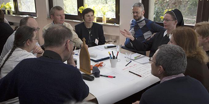 Die kroatische Gesprächsgruppe (Foto: Lilek)